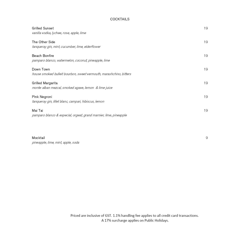 Drinks List 01 04 19 1